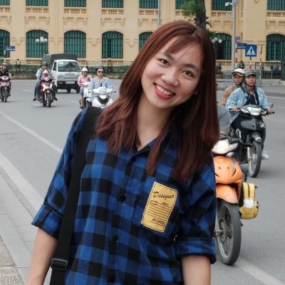 Trần Ngọc Anh - Biên tập viên kiêm trợ lý dự án