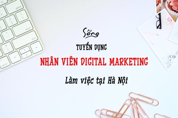 Tuyển dụng Nhân viên Digital marketing